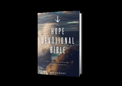 The Hope Devotional Bible
